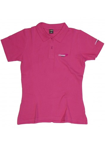 ... camisa cressi team mulher Polo Cressi estilo moderno 210gr algodão. com  o tipo de dobra  UV432034 LARANJA Camiseta Feminina Lara MULHER Roupas ... 171a644371998