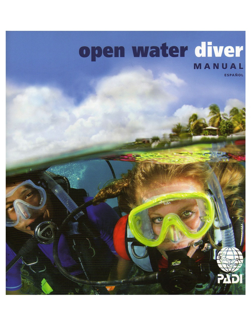 Padi Open Water Diver book for Open Water courses , or refresh and update  diving knowledge. Includes: Padi Open Water manual, with dive computer  manual ...