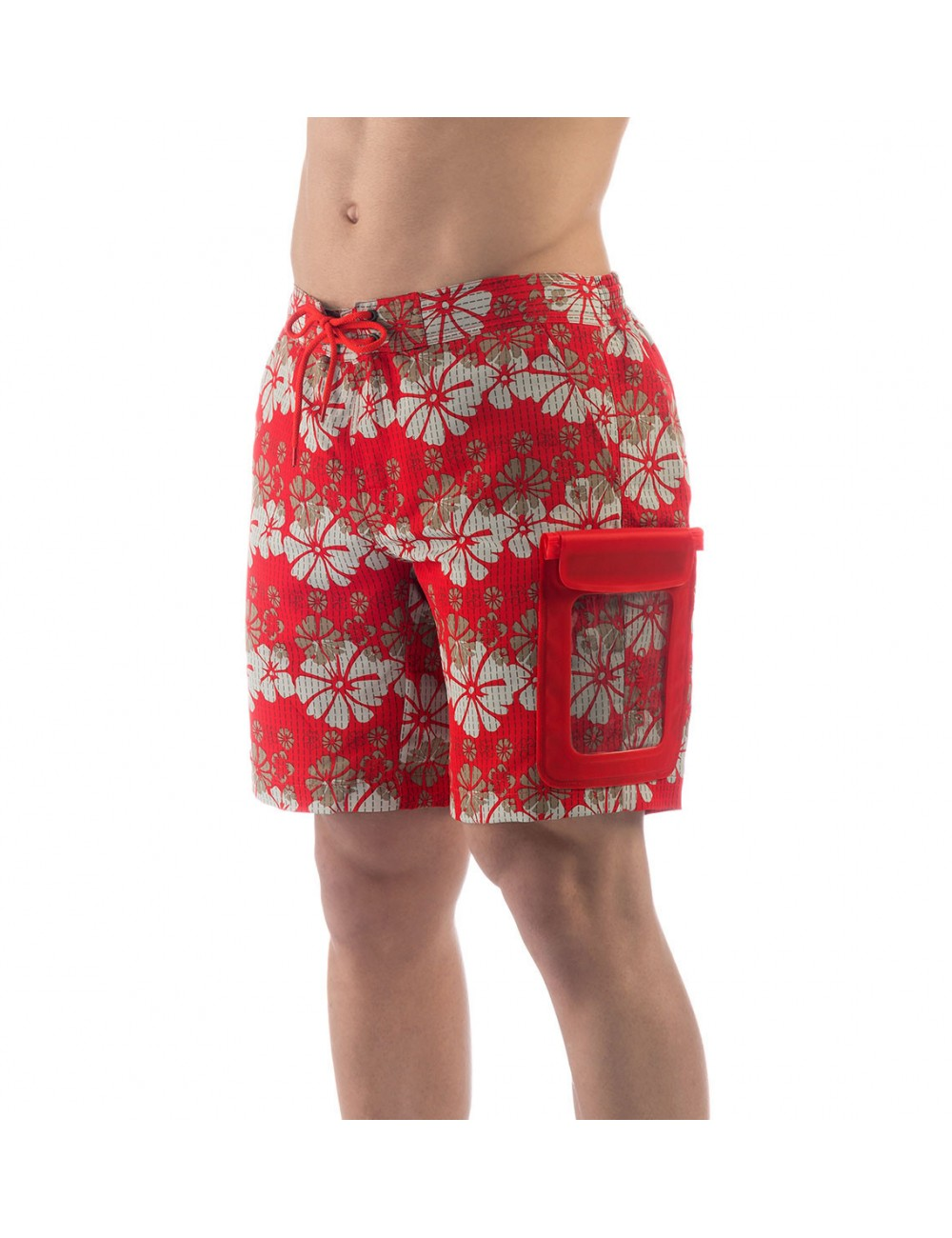 394e602dee uakko pula swim shorts flowers: uakko Swim shorts pula model with waterproof  pocket, two sewn-in pockets on both sides.Set-in rear pocket with flap and  ...