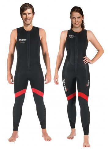 42867b4656 The 5mm Dual wetsuit is easy to don and doff