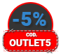 -5% OUTLET